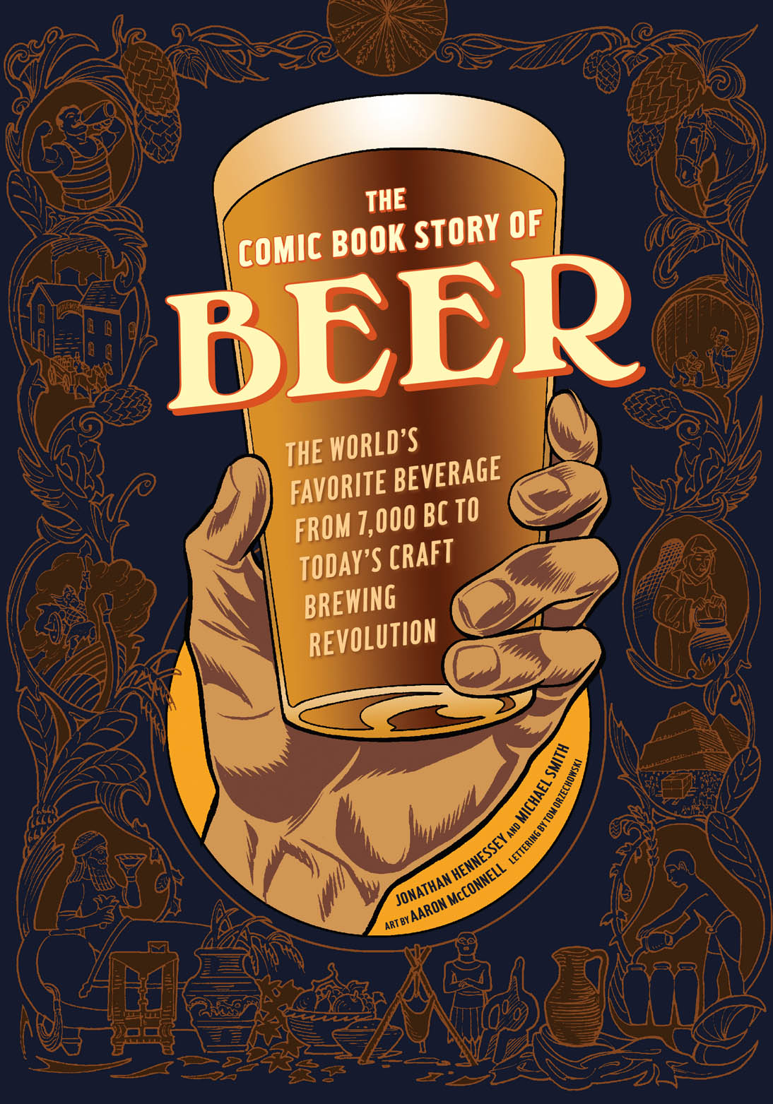 Book Cover Craft Beer ~ About the comic book story of beer